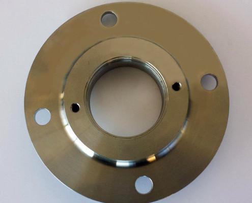 Drehteile der Firma E-Metall und Zerspanungstechnik